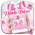 Pink Bow Cuteness Icon