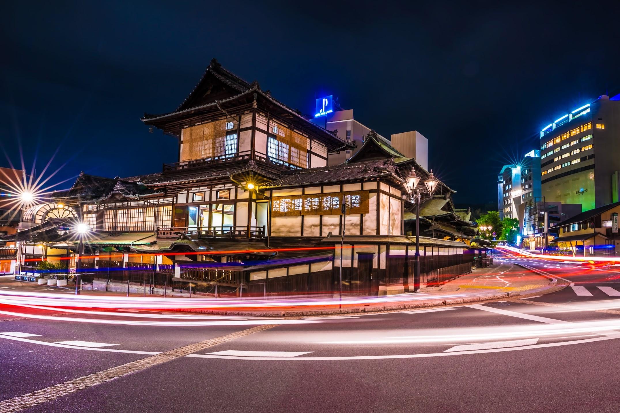 Dogo Onsen Honkan night3