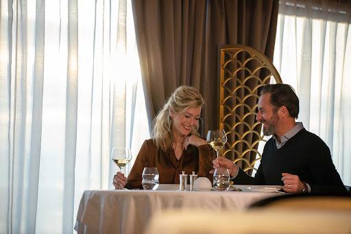 Chartreuse on Seven Seas Splendor offers  fine French fare in an elegant setting.