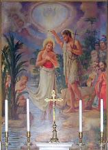 Giuseppe Cherubini. Battesimo di Gesù