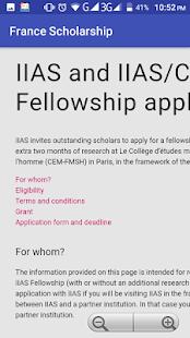 France Scholarship - náhled