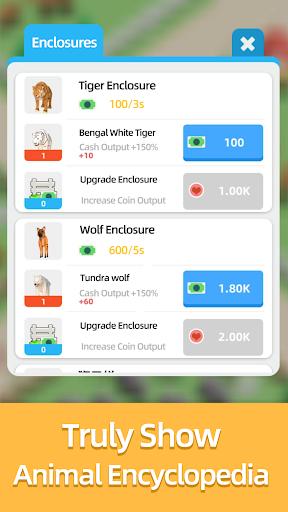 Idle Zoo Tycoon 0.9 screenshots 10