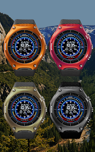 V05 WatchFace for Android Wear - náhled