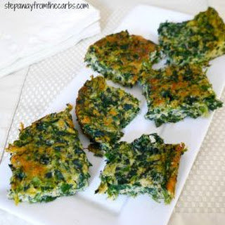 Spinach Cheese Squares.
