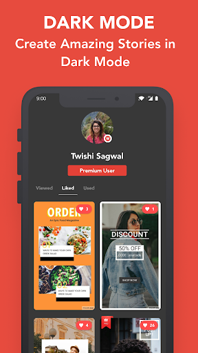 Mouve - animated video maker for Instagram, Tiktok 0.481 Apk for Android 8