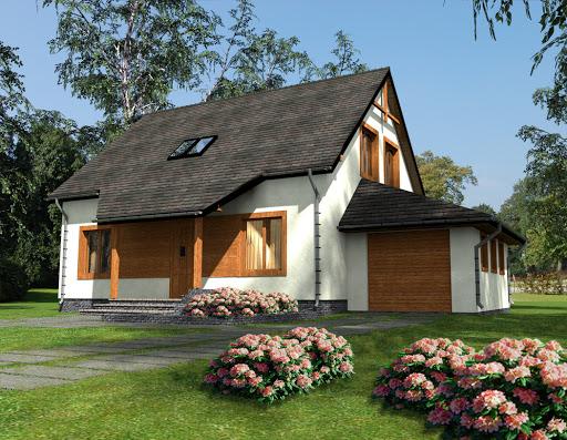 projekt Zosia 1 Drewniany Termo