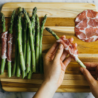 Dry Coppa-Wrapped Asparagus