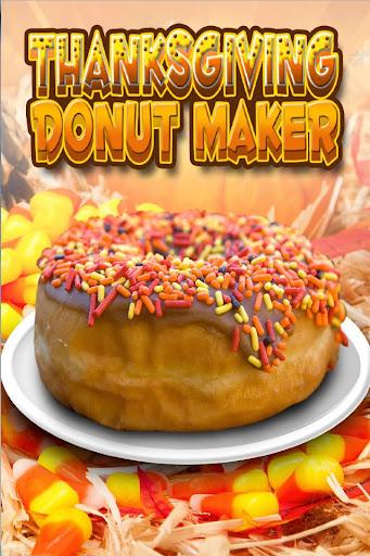 Thanksgiving Donut Maker Baker