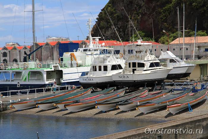 Старый порт Орта, остров Фаял