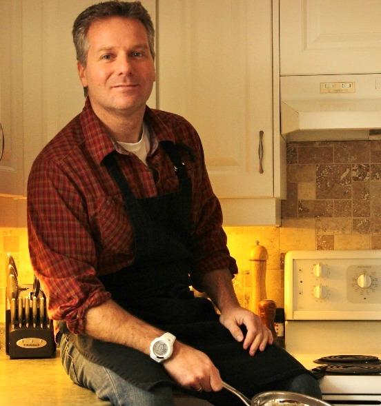 Cookbook Author Brent Garell
