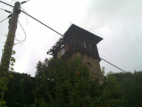 Photo: east german rotting tower