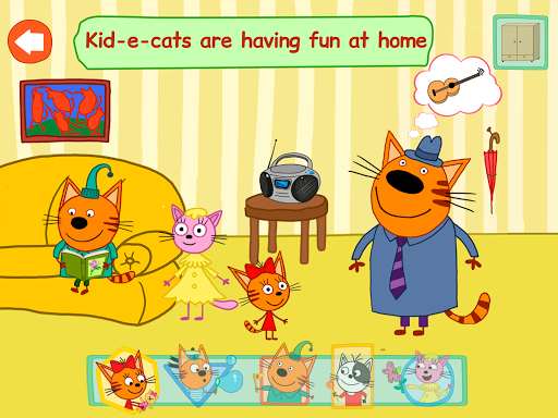 Kid-E-Cats: Adventures. A baby game apktram screenshots 10