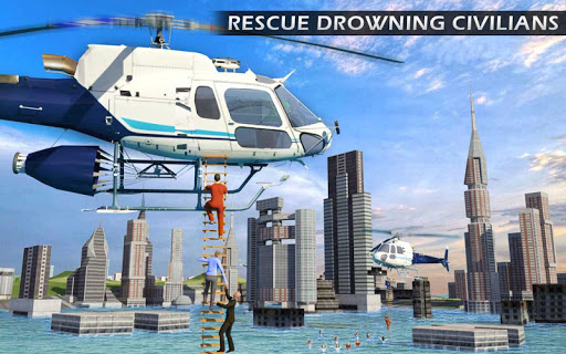 Heli Ambulance Rescue Team 3D Helicopter Simulator  screenshots 7