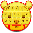 Yellow Bear Keyboard Theme icon