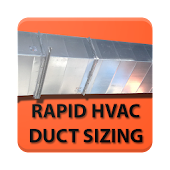 Rapid HVAC Duct Sizing