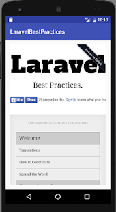 Laravel Best Practices (Unreleased)- screenshot thumbnail