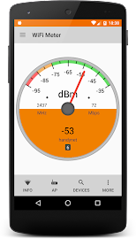 WiFi Signal Strength Screenshot 1