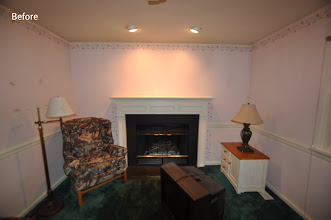 Photo: (Before) Tarleki's Family room Collegeville, PA