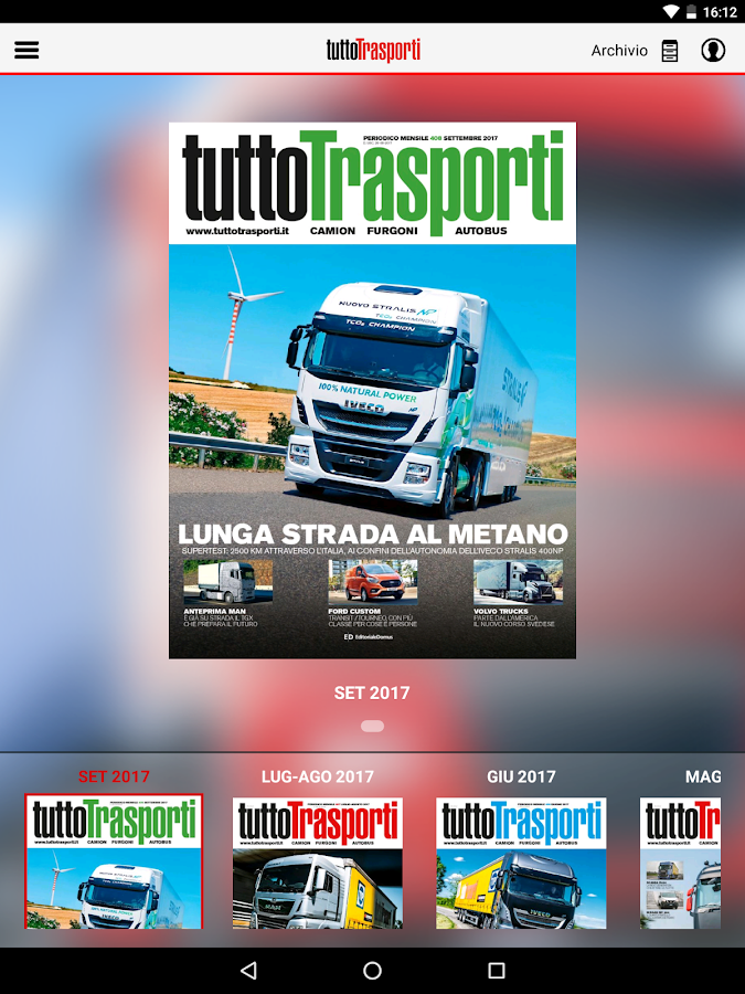 Tuttotrasporti- screenshot