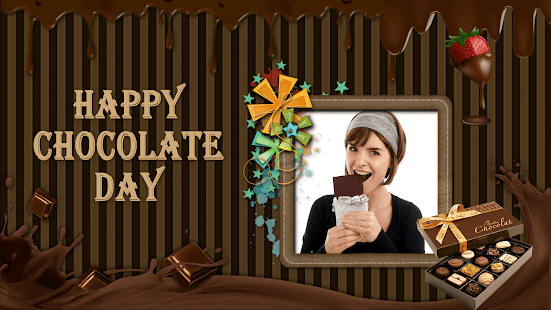 Chocolate GIF Photo Frame : Chocolate Photo Editor - náhled