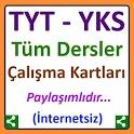 TYT ve YKS Çalışma Kartları icon