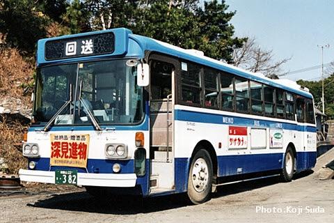 明光バス 先々代塗装 ・382