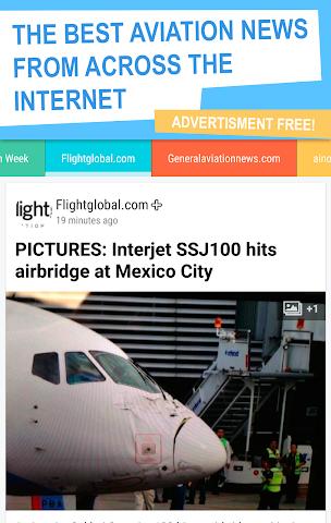 android Aviation news! Screenshot 0