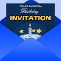 Invitation maker 2021 Birthday & Wedding card Free icon