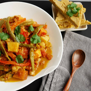 Sweet Potato Coconut Curry (vegan, paleo, gluten-free)