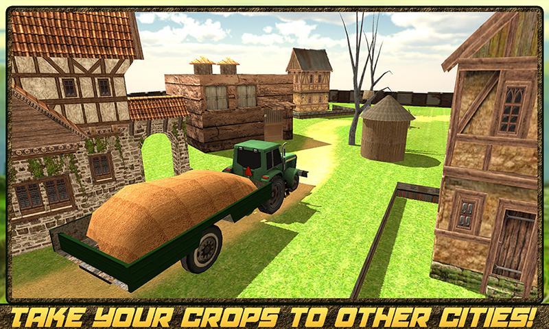 android Hay Farm Plow Truck Driver Screenshot 4