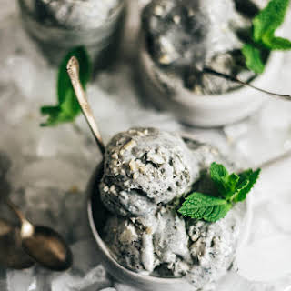 4-Ingredient No-Churn Black Sesame Ice Cream.