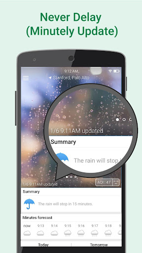 WeatherClear - Ad-free Weather, Minute forecast 1.2.6 screenshots 3