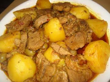 Cuban Beef and Potato Stew, Carne con Papas