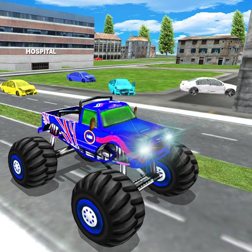 Monster Truck Demolition 3D