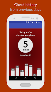See how often you check your phone - náhled