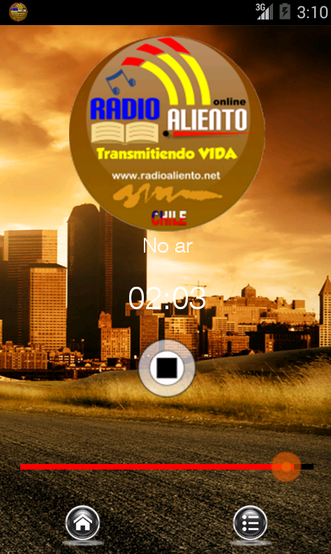 RADIO ALIENTO CHILE- screenshot