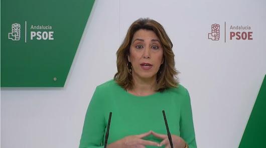 """Susana Díaz sobre Almería: """"No se pueden hacer experimentos con la desescalada"""""""