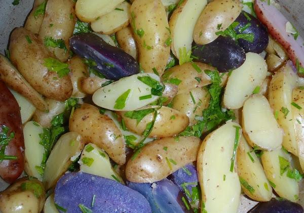 Irish Herbed Potatoes Recipe