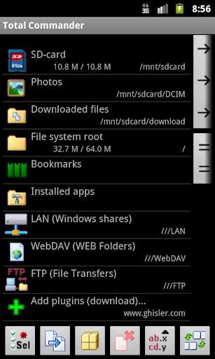 LAN plugin for Total Commander 3.09 screenshots 2