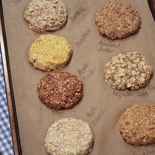 2-Ingredient Breakfast Cookies (with options).