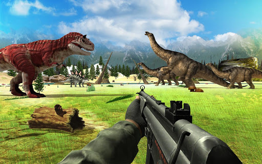 Dinosaur Hunter Sniper Safari Animals Hunt screenshots 3