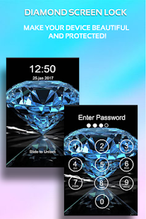 Diamond Passcode Lock Screen - náhled