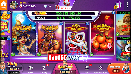 Descargar Billionaire Casino Slots – The Best Slot Machines para PC ✔️ (Windows 10/8/7 o Mac) 6