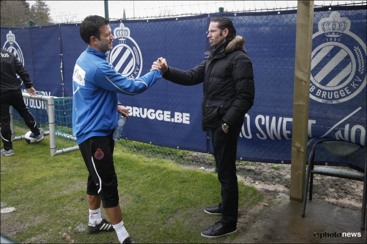 Belle promotion pour Sven Vermant au Club de Bruges