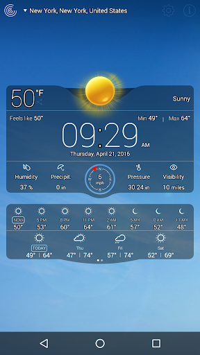 Weather Live Free for PC