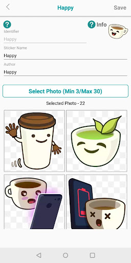 WSTicK - Sticker Maker 2.0.5 screenshots 2