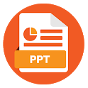 PPT Viewer: PPT & PPTX Reader & Presentation App icon