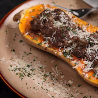 Stuffed Slow Cooker Butternut Squash.