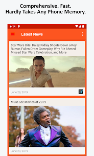 Movie News, Videos, & Social Media App Download For Android 1