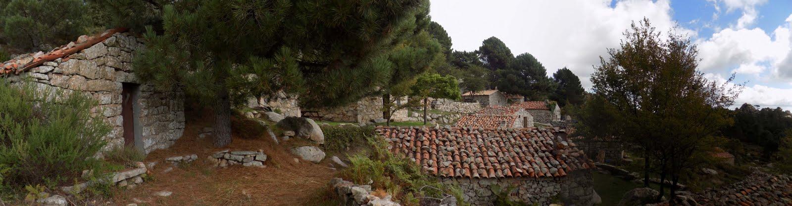Le hameau de bergeries de Bitalza (photo Olivier Hespel)